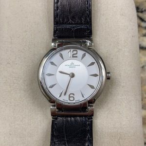 Swiss Brown Leather Watch